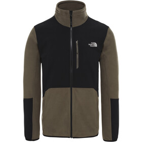 The North Face Glacier Pro Zip intera Uomo, new taupe green/tnf black